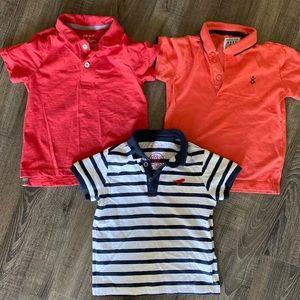 Toddler boys polo shirts
